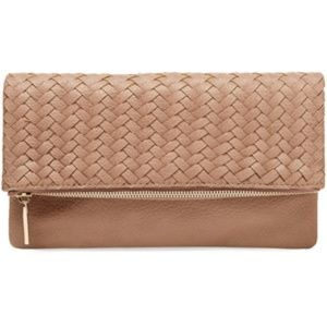 Deux Lux Madison Woven Fold Clutch